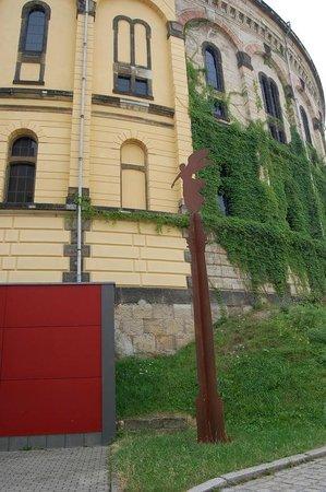 Panometer Dresden : вход в панометр