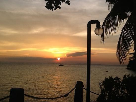 Dive Solana sunset