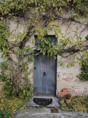 Aux Jardins des Thevenets: Door