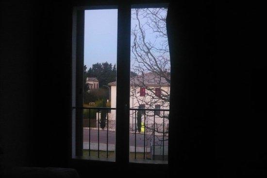 Cerise Carcassonne Sud : Vistas a las 7.30AM