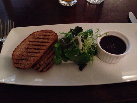 The Green: Duck pate starter