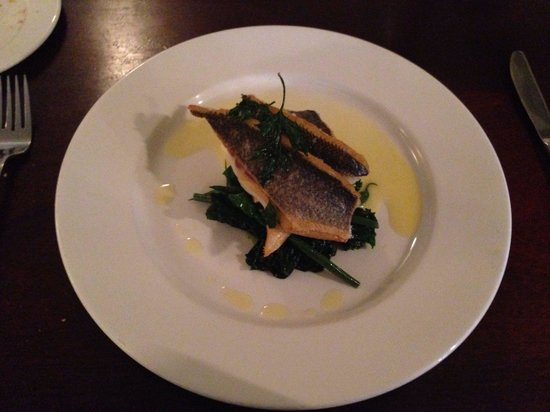 The Green: Sea bass main
