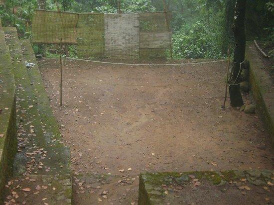 Punarjani Resorts: Badminton court