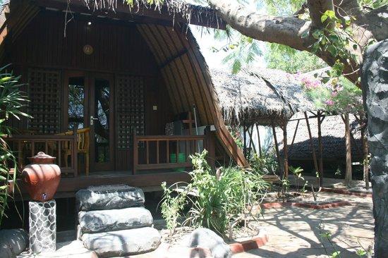 Gili Smile Bungalow: nice bungalows