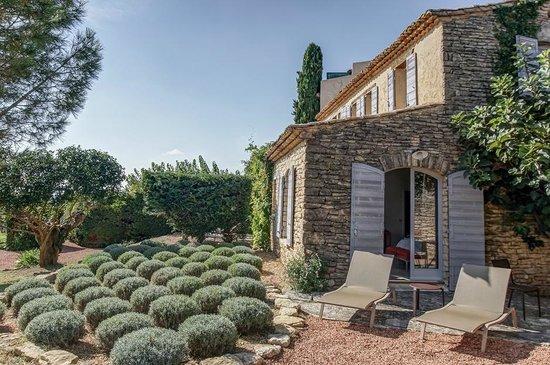 Domaine de L'Enclos : Jardin privatif de chambre