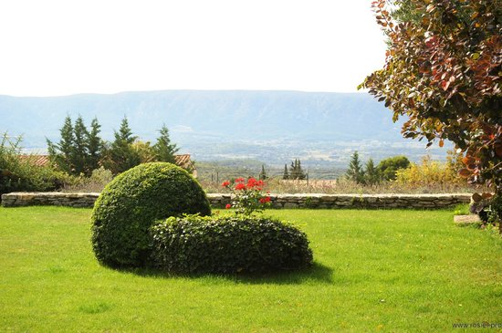 Domaine de L'Enclos : Vue de la Terrasse principale