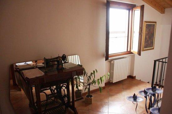 Il Castello B&B: In the house.
