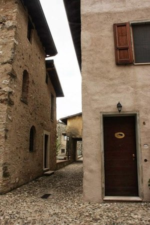 Il Castello B&B: The entrance