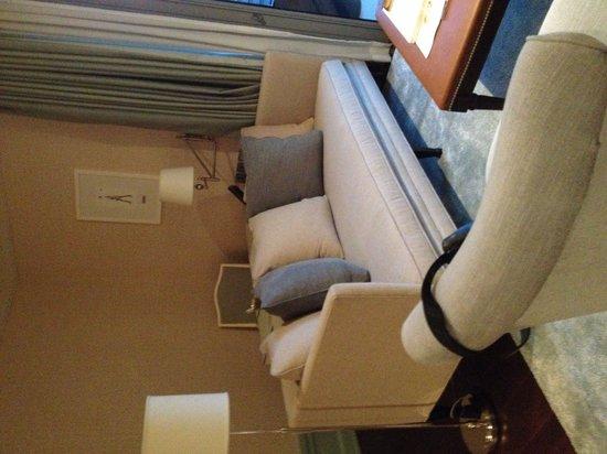 Oriental Residence Bangkok: Suite:  living area.