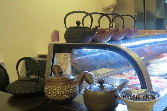 Sabores Com Fusao: Sushi bar