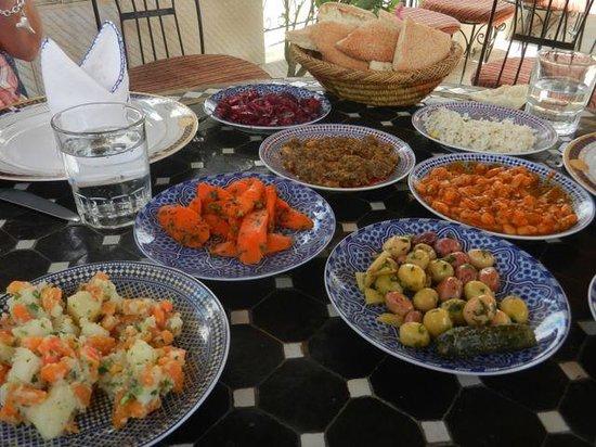 Restaurant Nejjarine : Moroccan salads