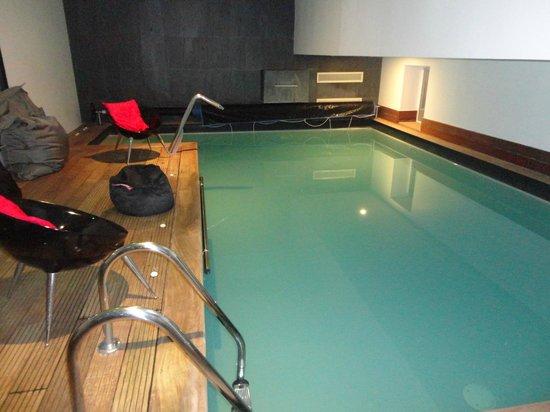 Hotel-Spa La Baie des Anges : Piscine