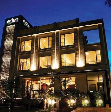 Eden Residency: Front Facade