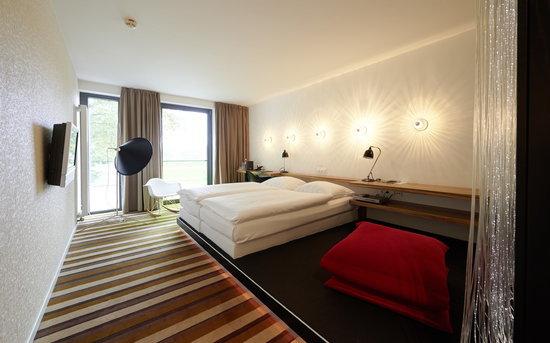 Überfluss Hotel: Superior Zimmer mit Blick auf den Fluss
