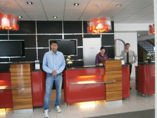 Novotel Paris Les Halles: The Novotel Reception
