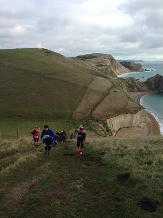 Bindon Bottom B&B: Lulworth Cove trails