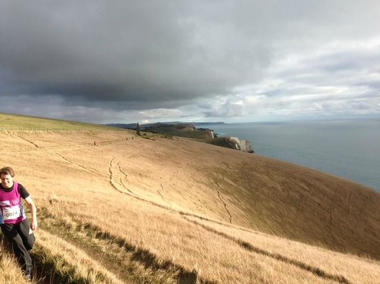 Bindon Bottom B&B: Lulworth Cove scenery