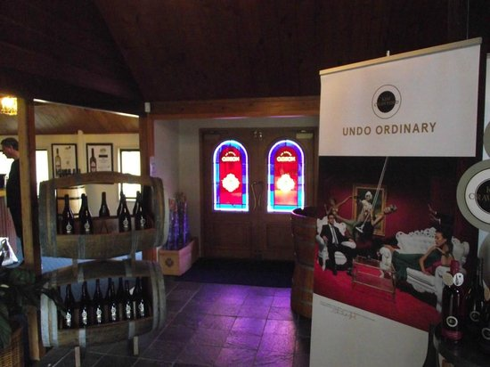 Auckland Fine Wine & Food Tours : Nobilo's Winery - a great and classy start to the tour.