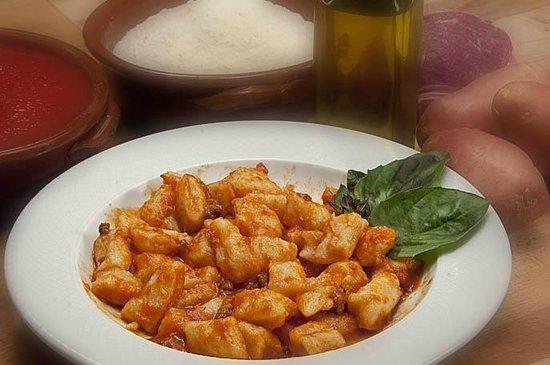 Veroli, Italie : Gnocchi di patate rigorosamente preparati in Locanda