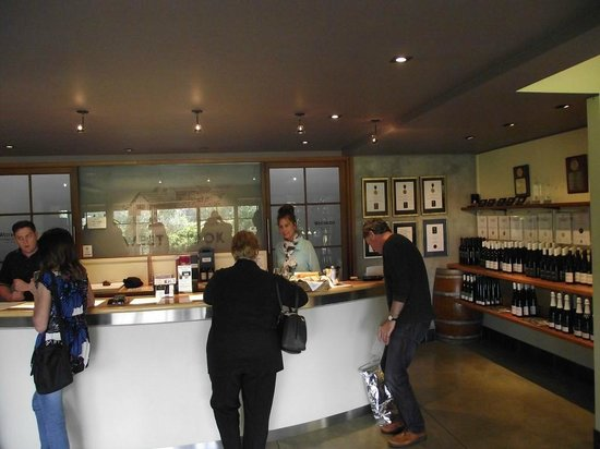 Auckland Fine Wine & Food Tours : Buying more wine at West Brook Winery