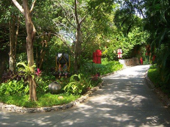 Rocky's Boutique Resort: Entrance path