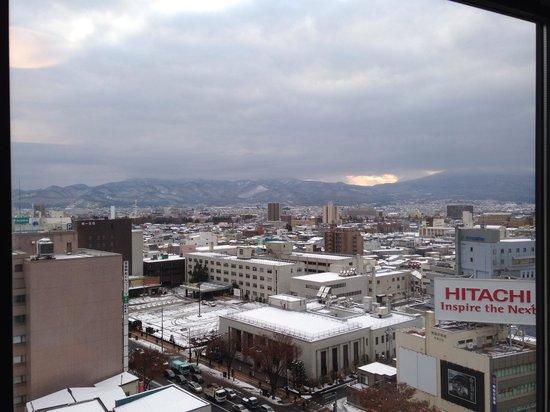 Richmond Hotel Aomori: 部屋からの眺め
