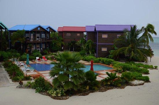 X'tan Ha Resort: panorama della piscina