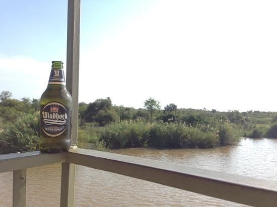 Olifants River Safaris Day Trips: an ice-cold brew along the Olifants River