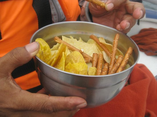 Ecocruceros day tours: snacks for 2