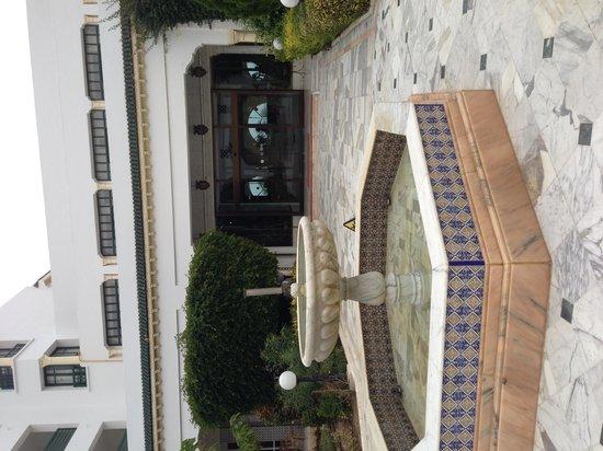El Mouradi Palm Marina: Hotel entrance