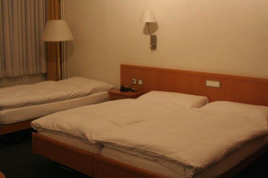 Hotel Rochat: Letti comodissimi