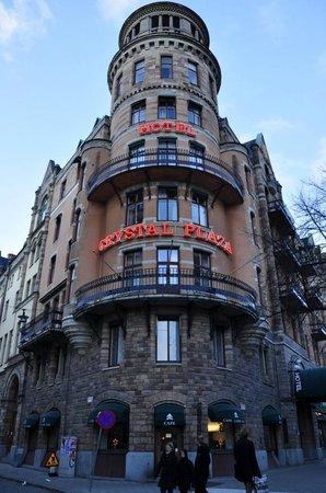 Crystal Plaza Hotel: Очень красивое здание