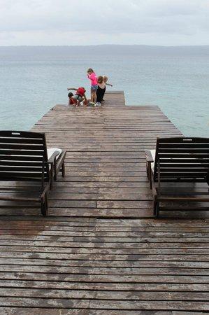 Paradise Cove Resort: jetty
