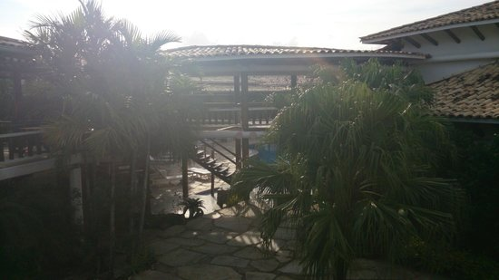 Perola Buzios Hotel : área externa