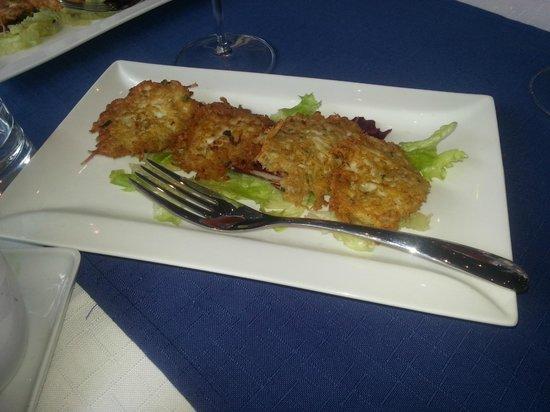 Scoglitti Restaurant: Neonatti fritters
