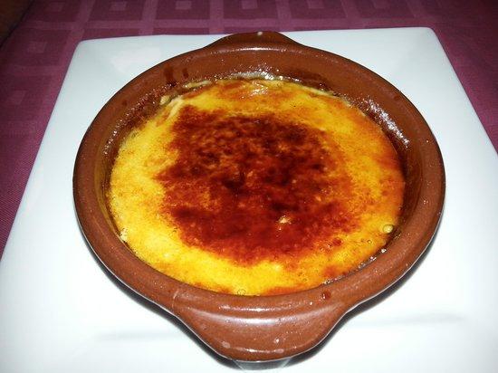 Restaurante Sol & Tapas: Creme catalan