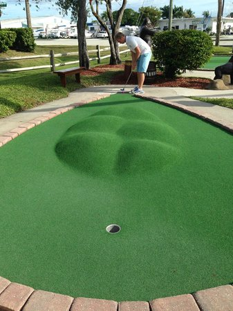 JungleGolf : Hole in one, givetvis
