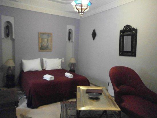 Riad Hadika Maria : chambre Sultane