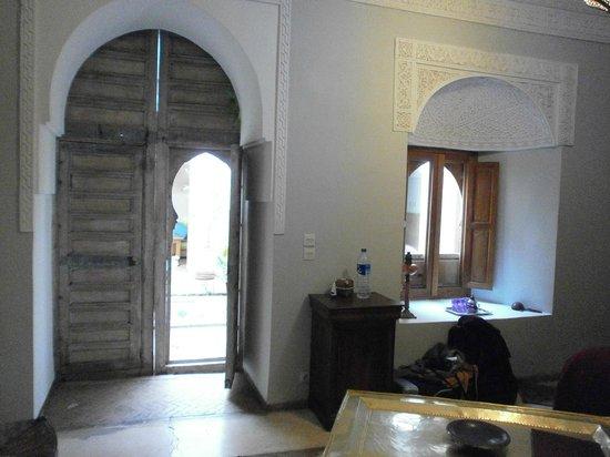Riad Hadika Maria: Vue de la chambre Sultane