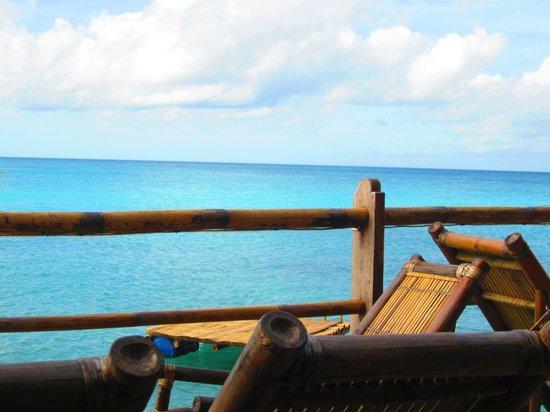 Spider House Resort: Bar deck