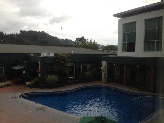 Holiday Inn Rotorua: View from room