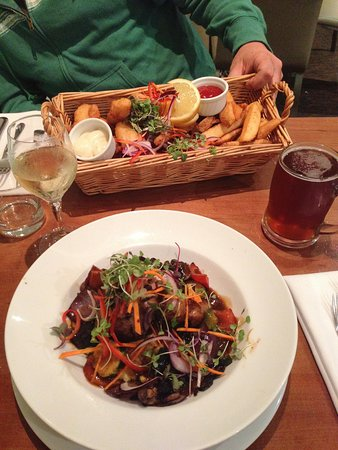 Holiday Inn Rotorua: Dinner at the restaurant