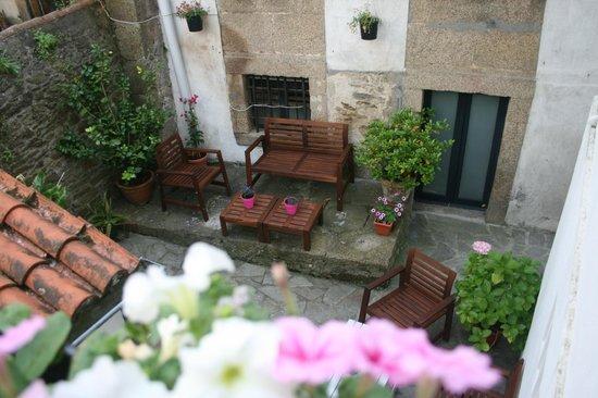 Hotel Real: Terraza interior privada para huéspedes de hotel