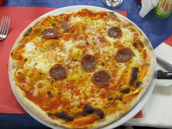 Ristorante Bonnie & Clyde: Pizza alla diavola