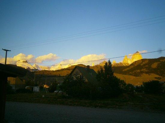 Condor de los Andes: Amanecer desde el hostel