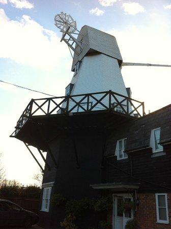 Rye Windmill B&B : On arrival