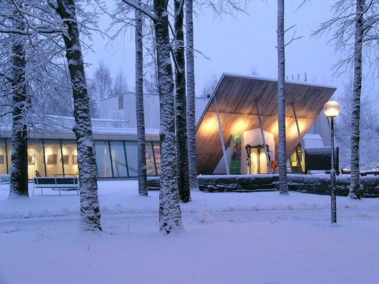 The Hunting Museum of Finland winter.