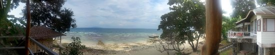 Tohko Beach Resort : View from the room