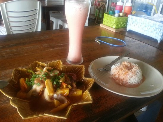 Tohko Beach Resort : Delicious Thai Food