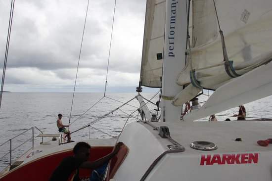 Performance Marine Sailing Charters: On the sea